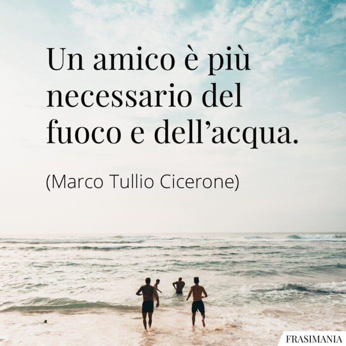 Frasi amico necessario Cicerone