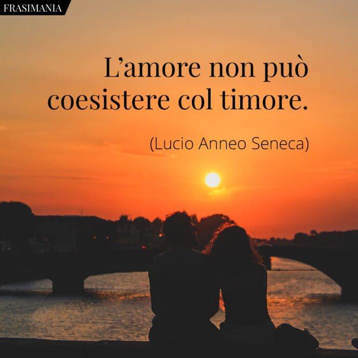 Frasi amore timore Seneca