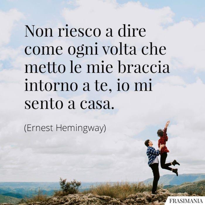 Frasi braccia casa Hemingway