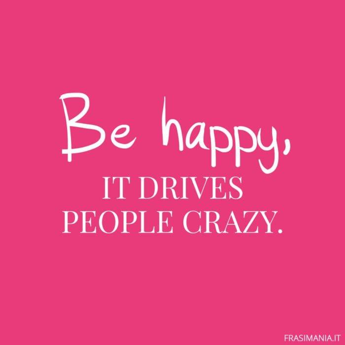 Frasi inglese Instagram be happy