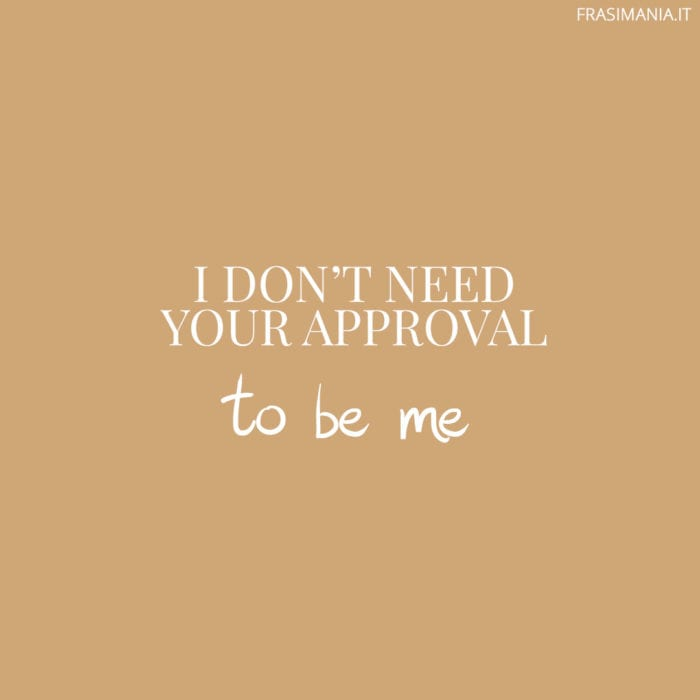 Frasi need approval