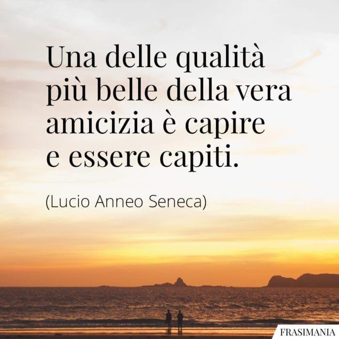 Frasi vera amicizia capire Seneca