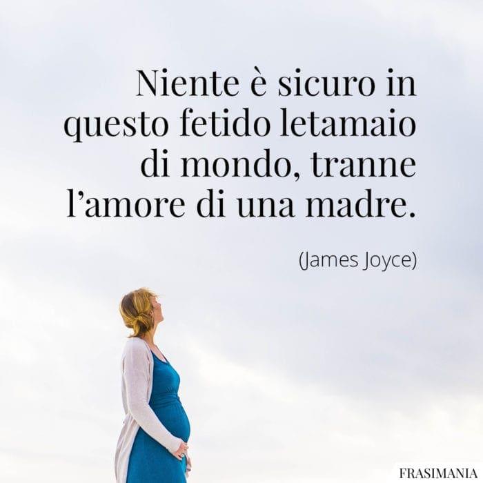 Frasi amore madre Joyce