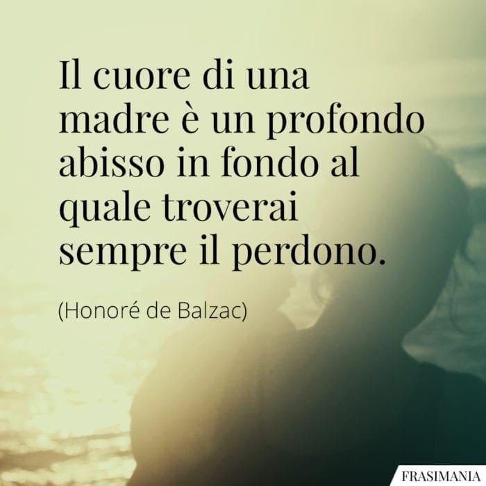 Frasi cuore madre Balzac