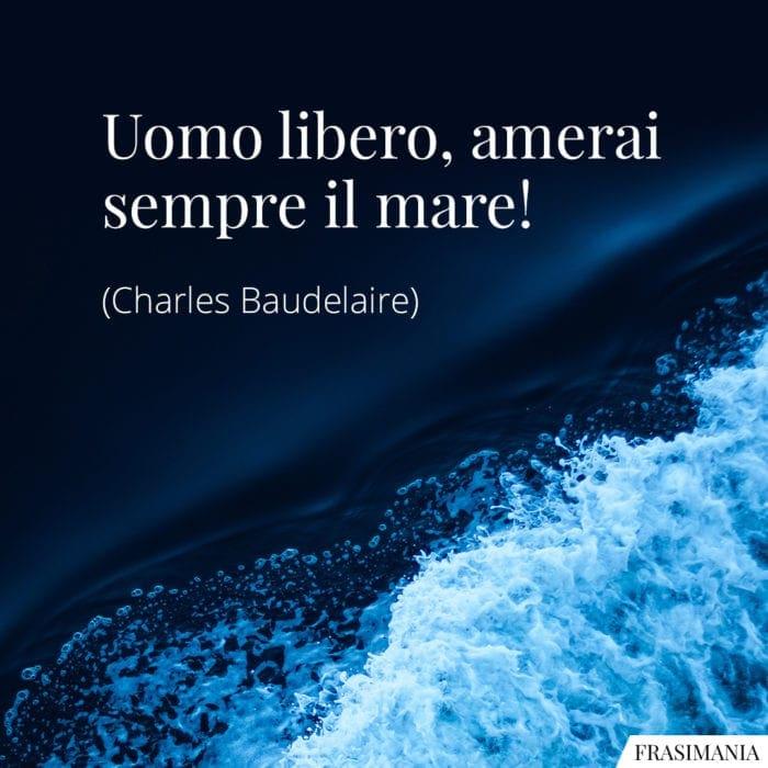 Frasi mare Baudelaire