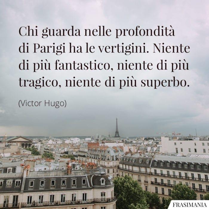 Frasi Parigi vertigini Hugo