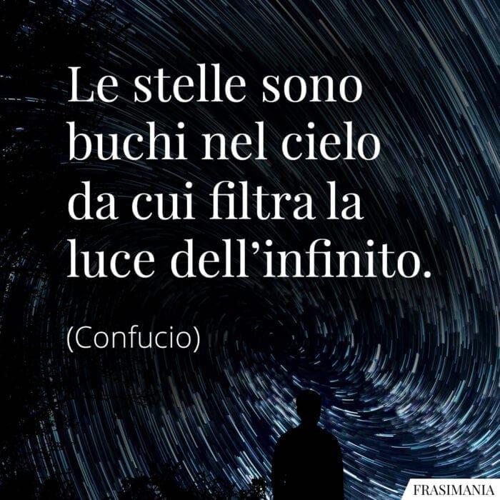 Frasi stelle infinito Confucio