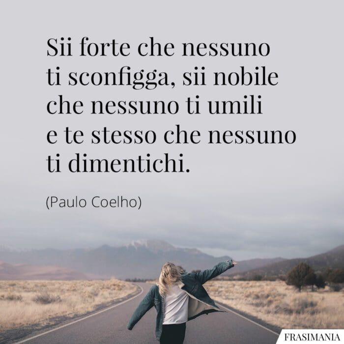 Frasi forte nobile te stesso Coelho