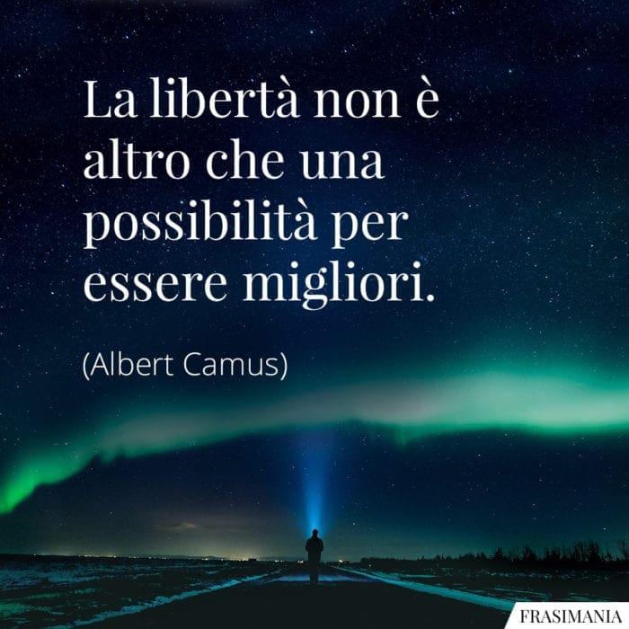 Frasi libertà migliori Camus