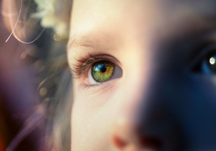 Frasi sugli Occhi dei Bambini