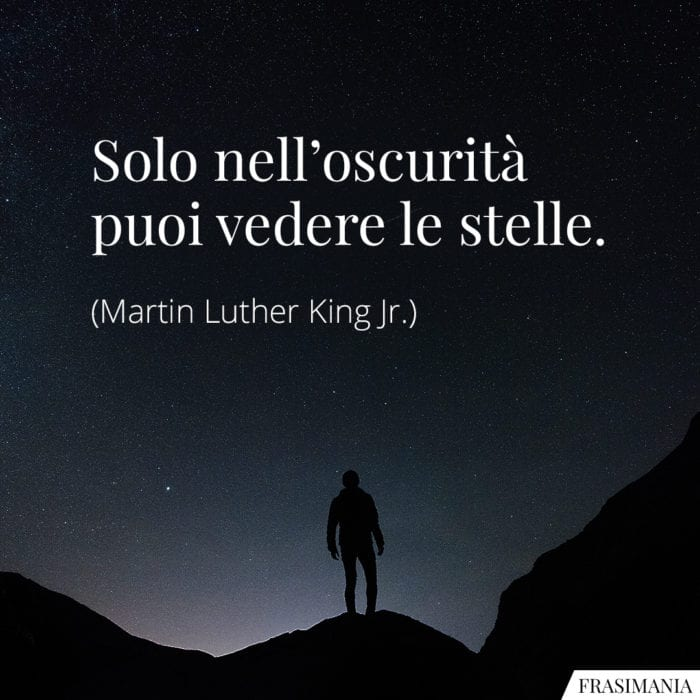 Frasi oscurità stelle King