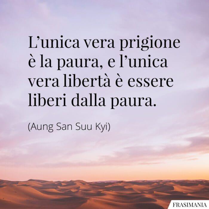 Frasi paura libertà Kyi