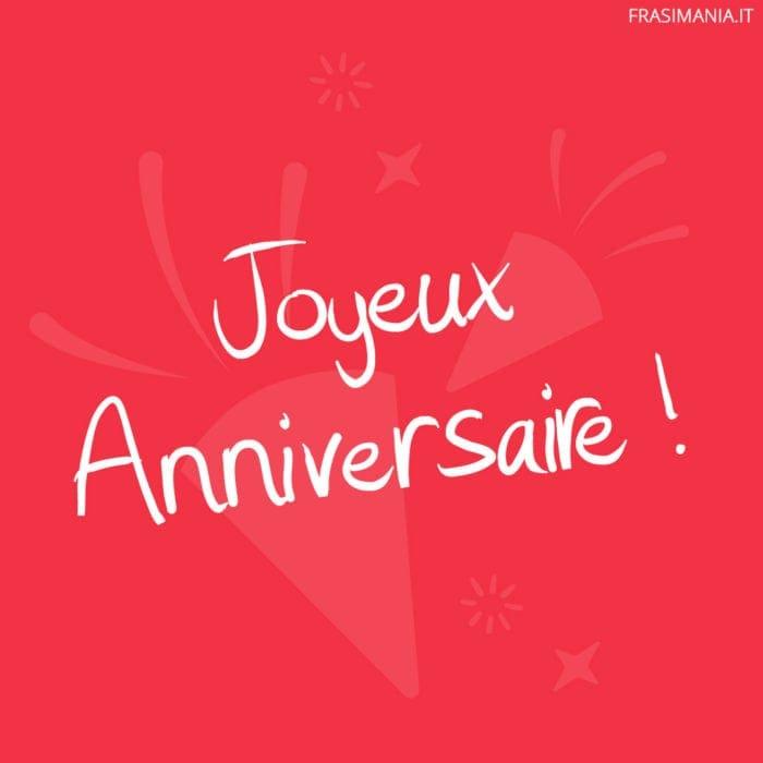Frasi di Buon Compleanno in Francese