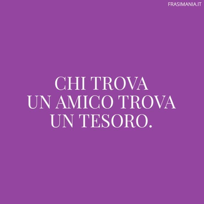 Proverbi italiani amico