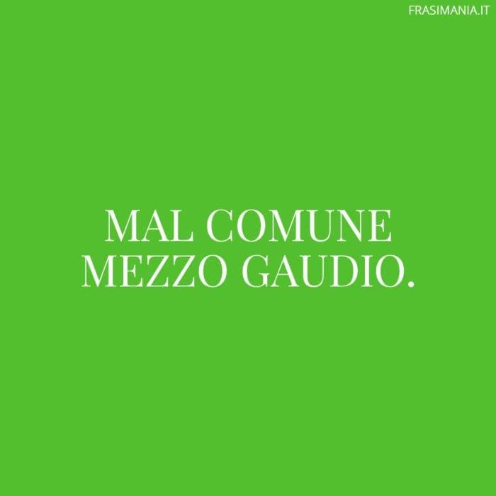 Proverbi italiani gaudio