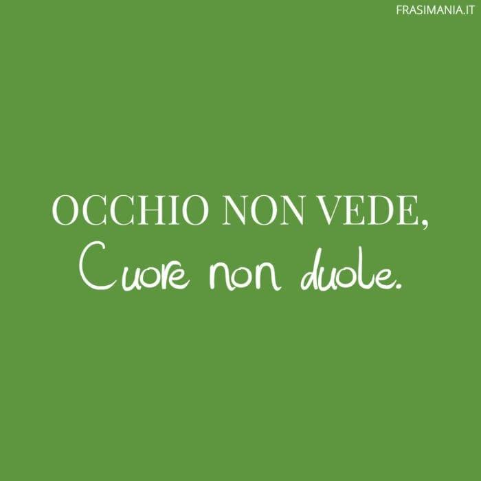 Proverbi Italiani Occhio