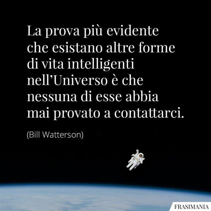 Frasi forme vita Universo Watterson