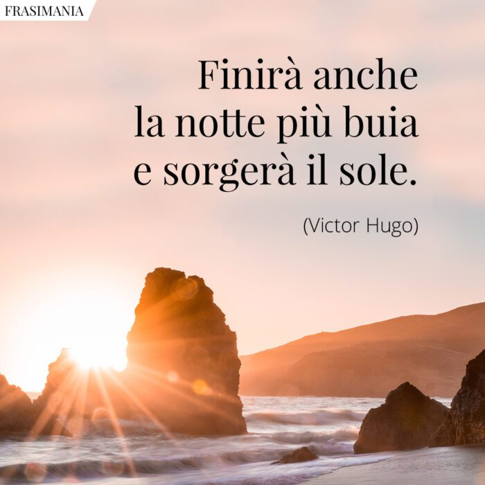 Frasi notte buia sole