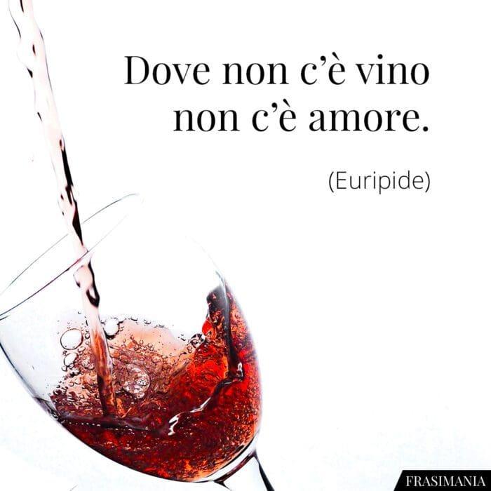 Frasi vino amore Euripide