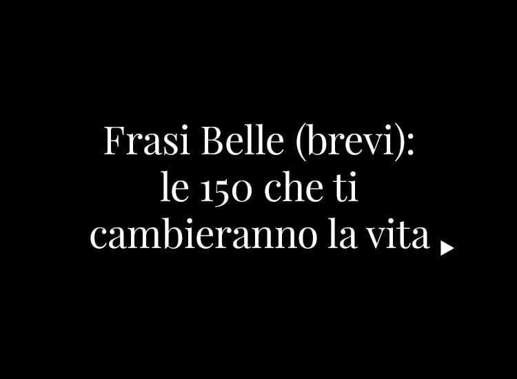 Frasi Belle