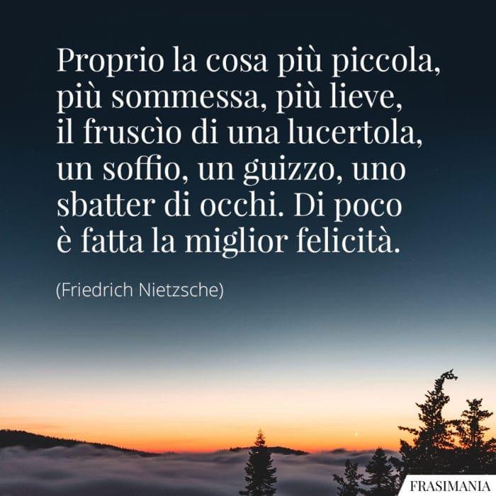 Frasi felicità Nietzsche
