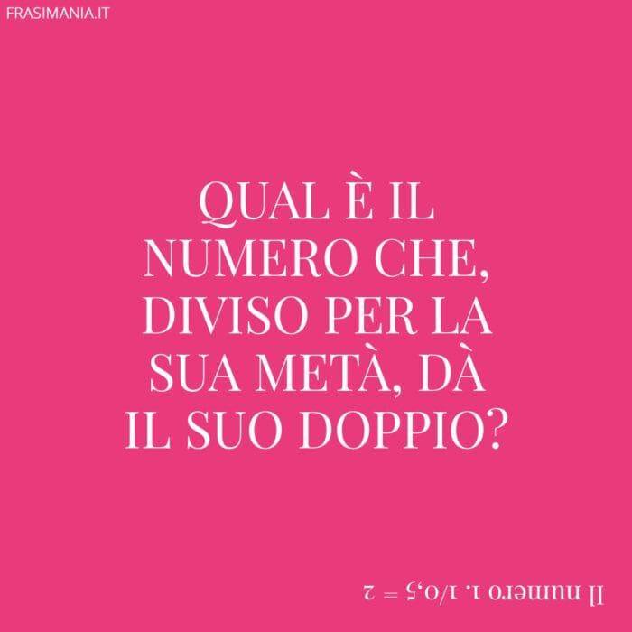 Indovinelli logici numero