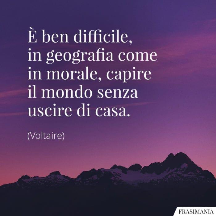 Frasi mondo casa Voltaire