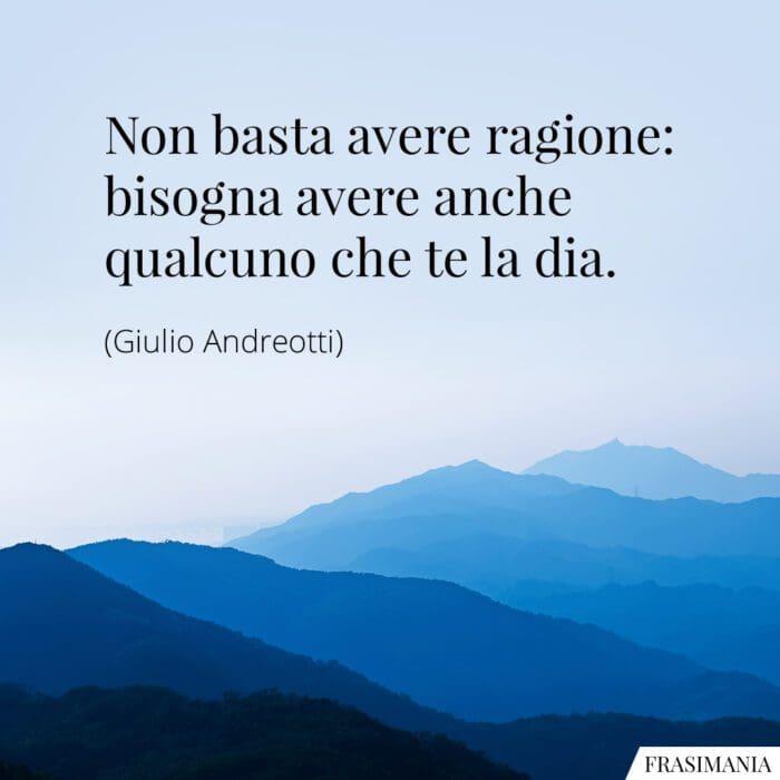 Frasi ragione Andreotti