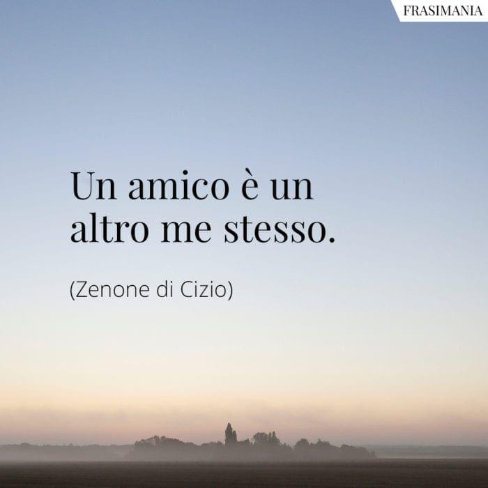 Frasi amico me stesso Zenone