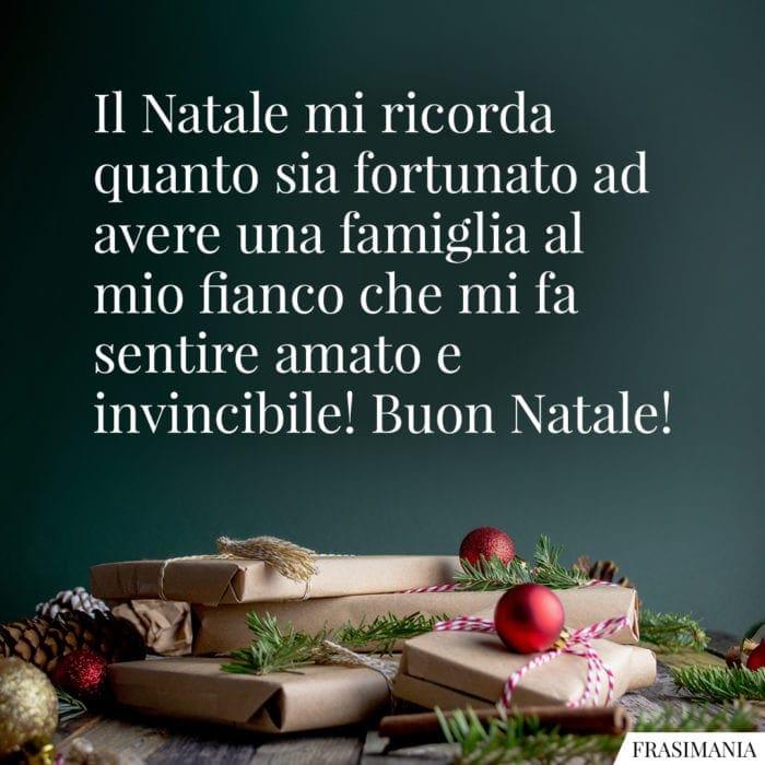 Frasi buon Natale fortunato