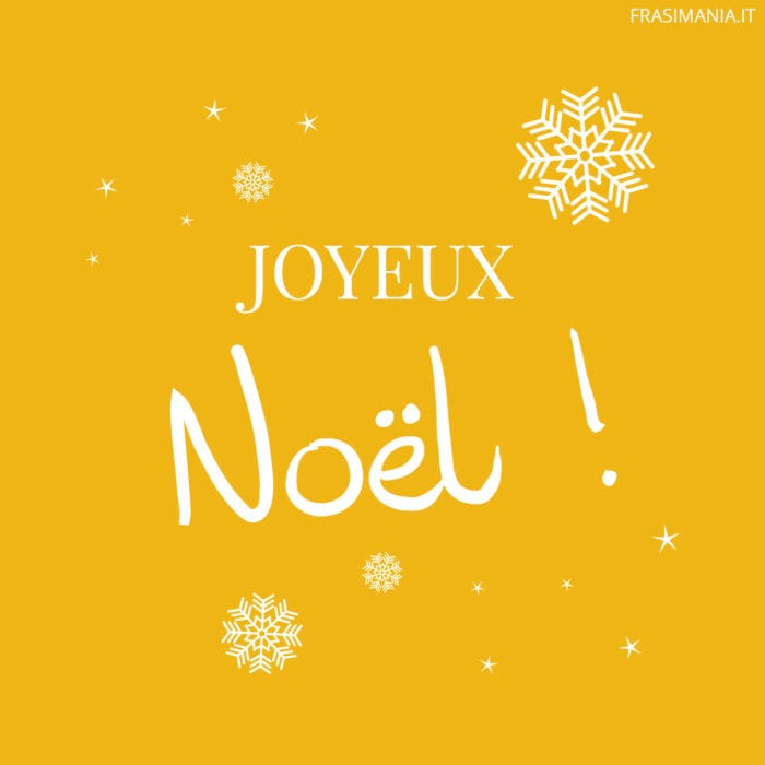 Frasi Buon Natale Francese
