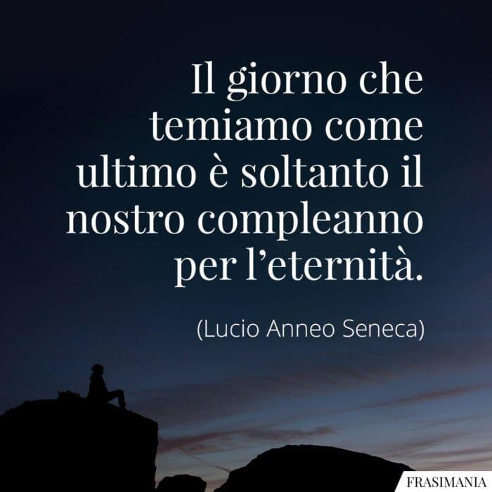Frasi giorno eternità Seneca