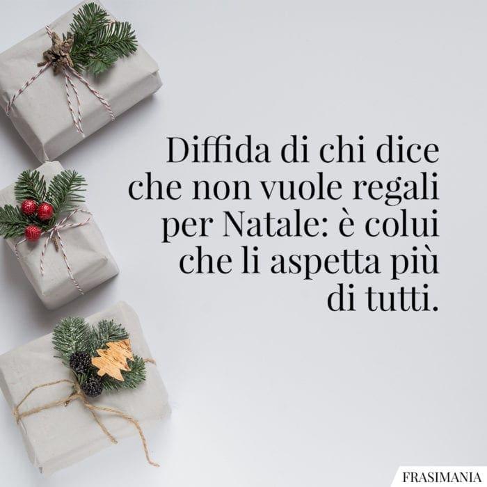 Frasi Natale regali