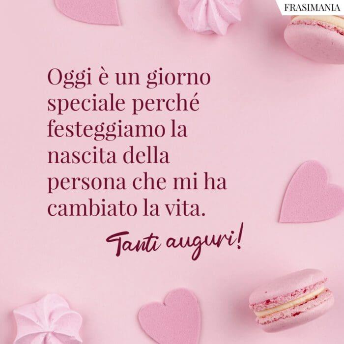 Frasi auguri buon compleanno amore speciale