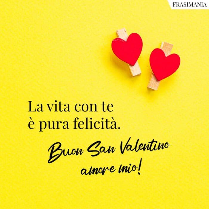 Frasi auguri San Valentino felicità