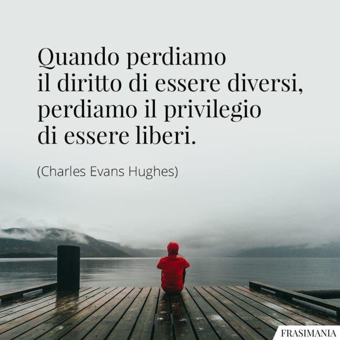 Frasi diversi liberi Hughes