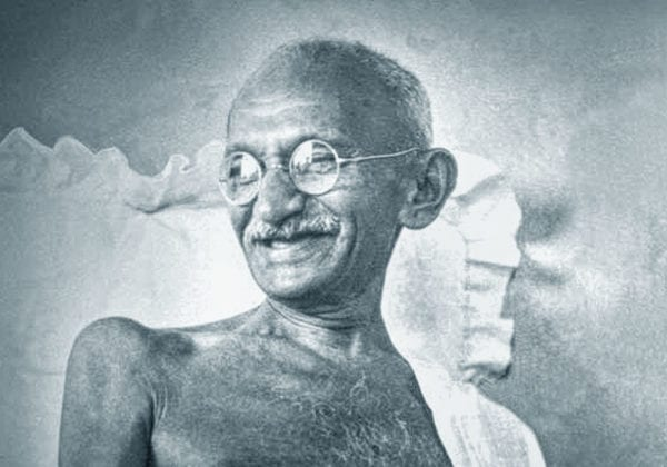 Frasi di Gandhi sulla Non Violenza