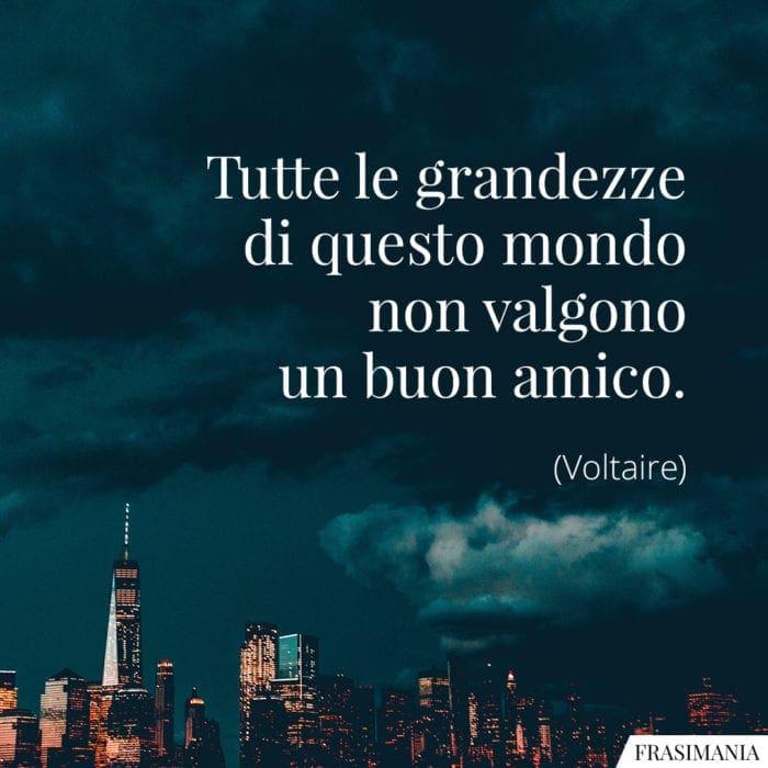 Frasi grandezze mondo amico Voltaire
