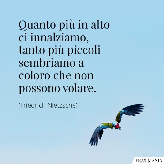 Frasi innalziamo volare Nietzsche