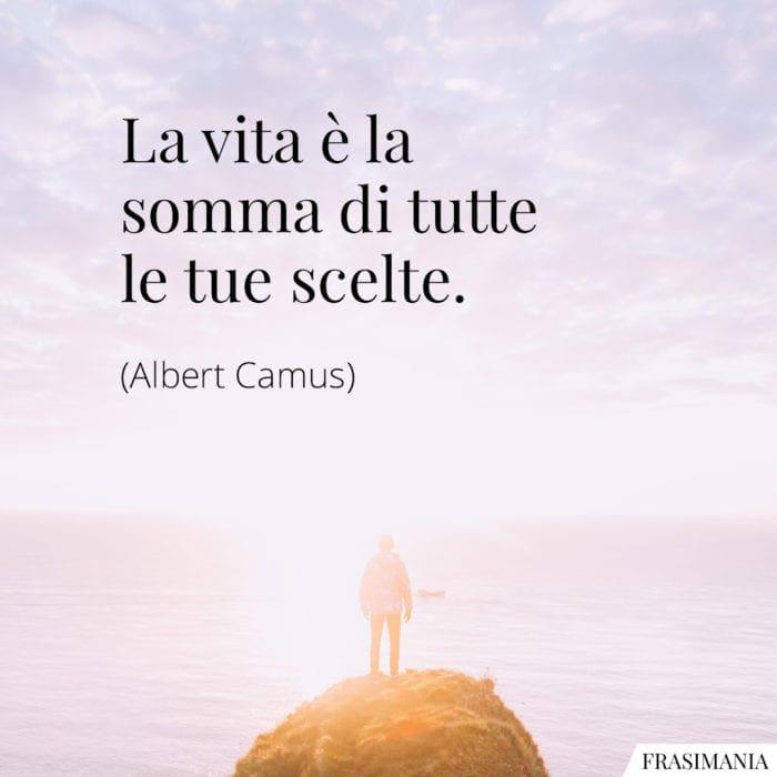 Frasi vita somma scelte Camus