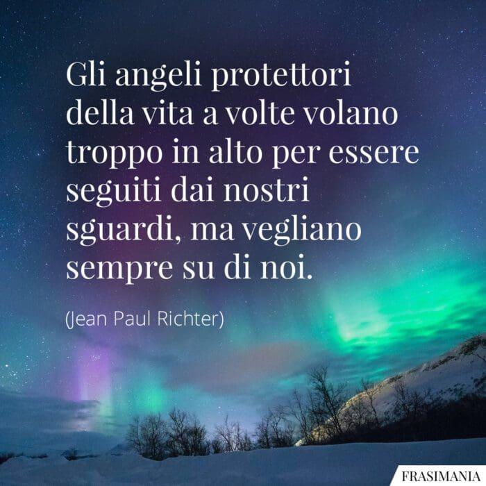 Frasi angeli protettori vegliano Richter