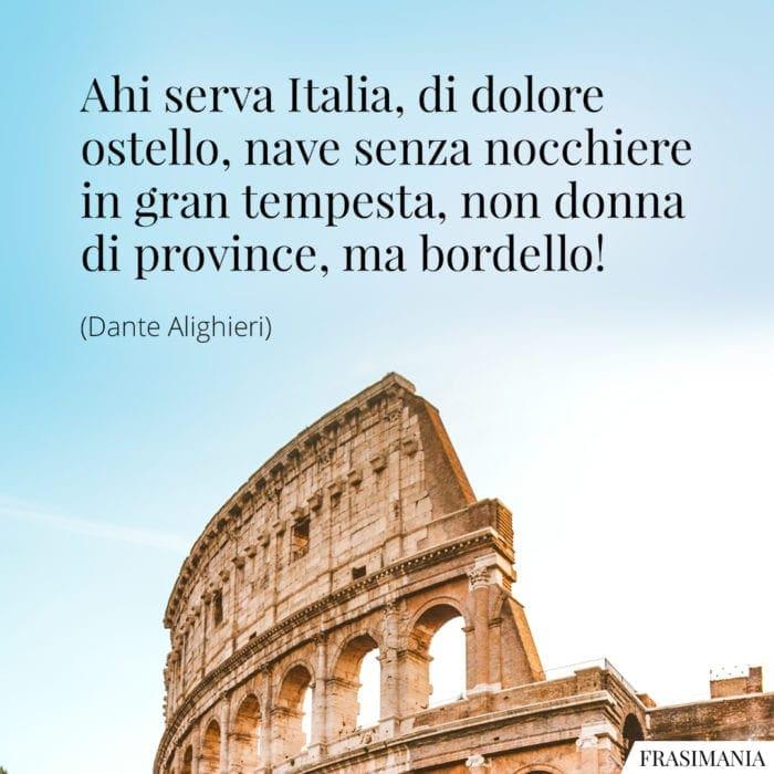 Frasi Italia Dante