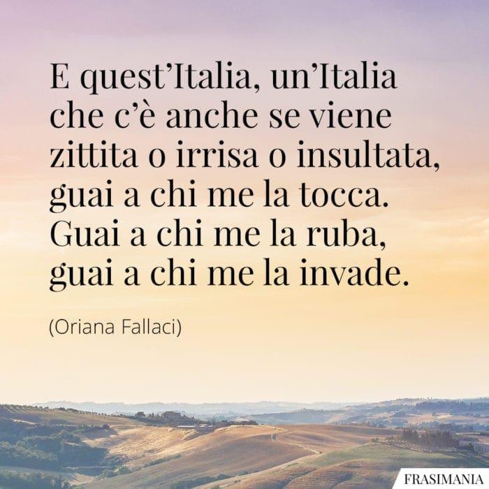 Frasi Italia Fallaci