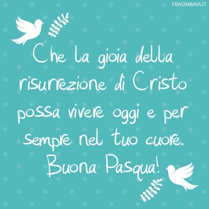 Frasi auguri Pasqua gioia