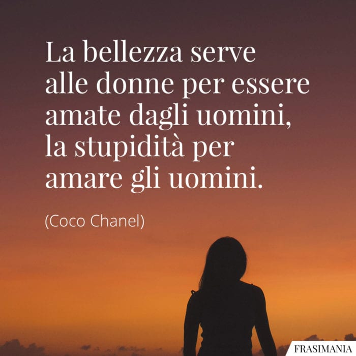 Frasi bellezza donne Chanel