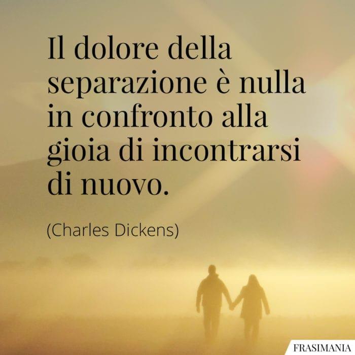Frasi dolore separazione Dickens