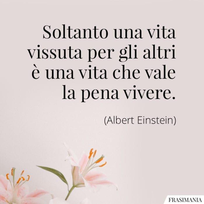 Frasi vita altri Einstein