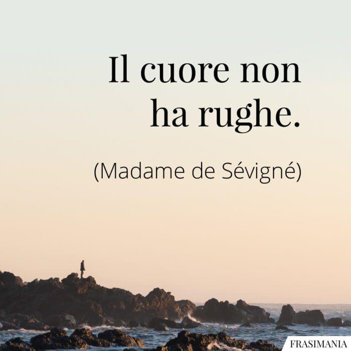 Frasi cuore rughe Sévigné
