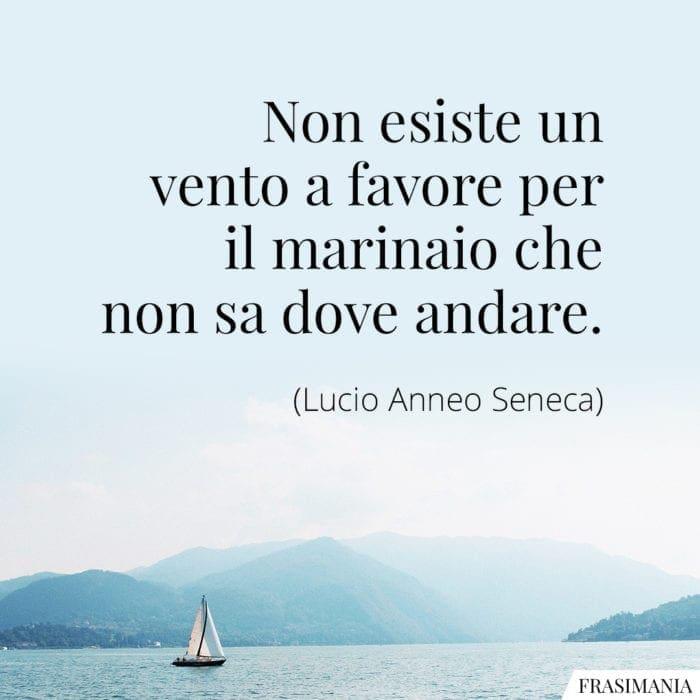 Frasi vento marinaio Seneca