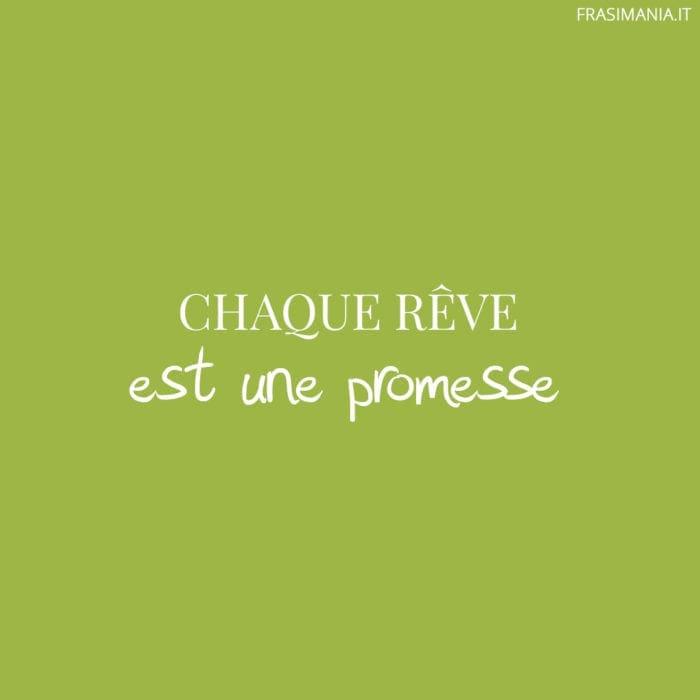 Chaque rêve est une promesse